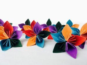kusudama flower origami