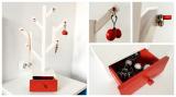 Suport Copac pentru Bijuterii - din Lemn