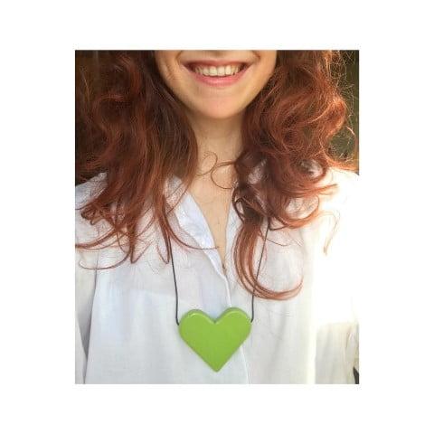 Cu Inima La Purtator - verde crud