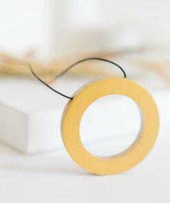 Colier ENSO ZEN - auriu metalizat