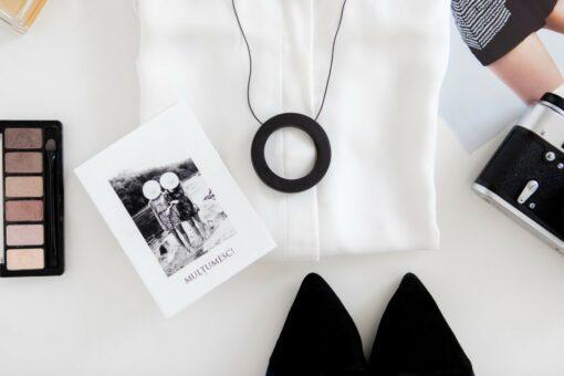 Colier ENSO ZEN - negru perlat