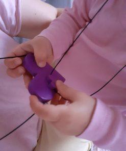 #CuInimaLaPurtăto - Setul pentru Mamă și Copil - Violet Deschis