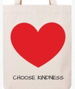 Mokko tote bag - Choose Kindness