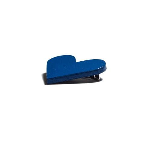Broșă #CuInimaLaPurtător - Albastru Intens (Electric)
