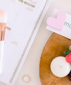 Broșă #CuInimaLaPurtător - Roz Pastel